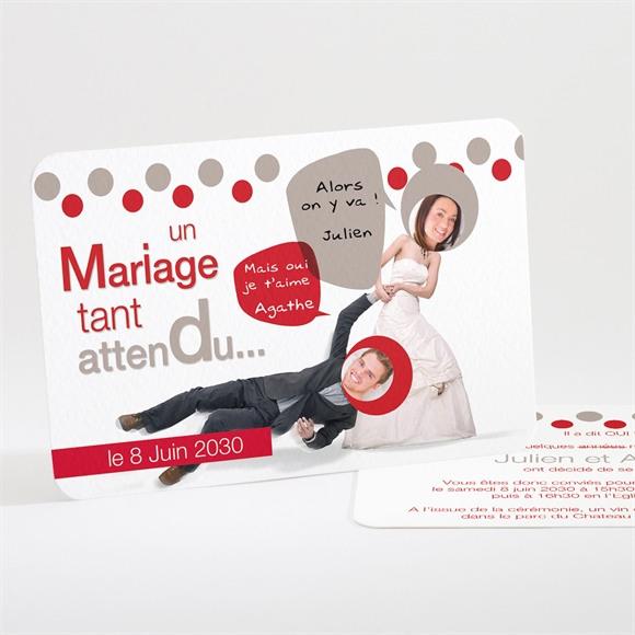 Faire-part mariage Humour original réf.N11107