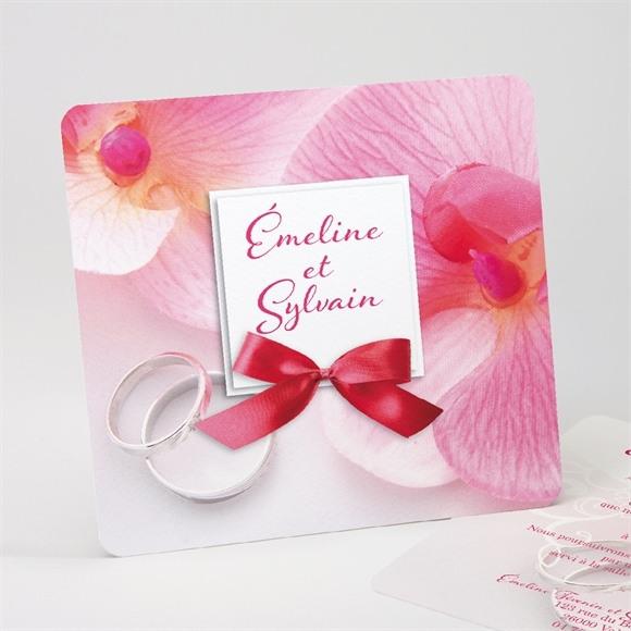Faire-part mariage Pluie de fleurs réf.N31182