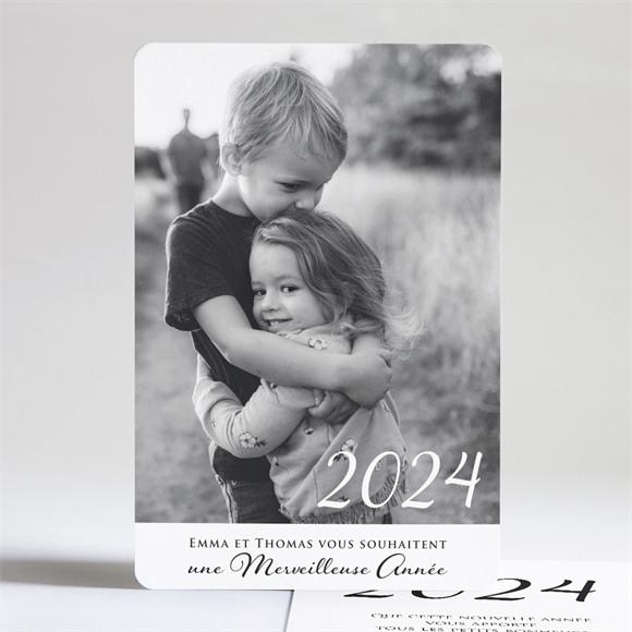 Carte de voeux Carte de Voeux scintillants réf.N24162