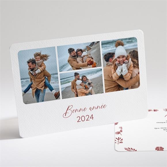 Carte de voeux Santé et Félicité réf.N14145