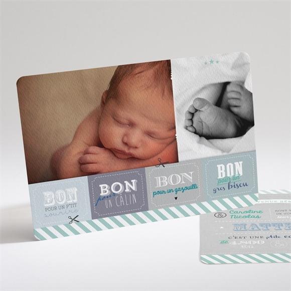 Faire-part naissance Bons pour ! réf.N14155