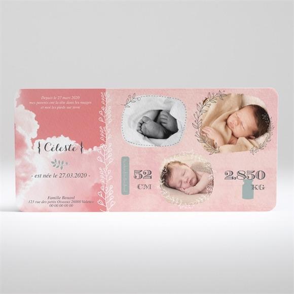 Faire-part naissance Belle naissance fille réf.N13011