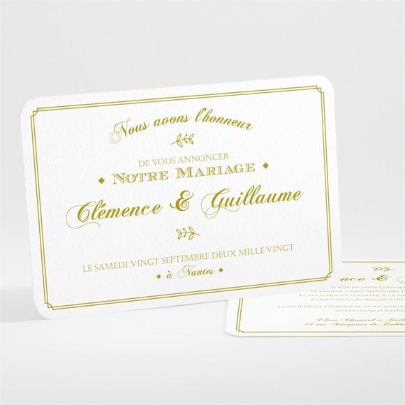 Faire-part mariage Classique réf.N111165