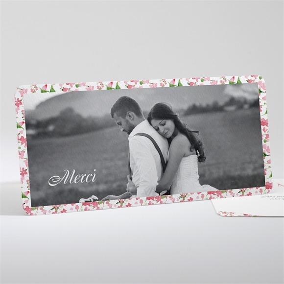 Remerciement mariage Annonce champetre réf.N13170