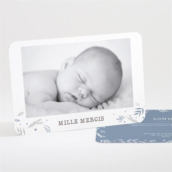 Remerciement naissance 4 belles photos réf.N111232