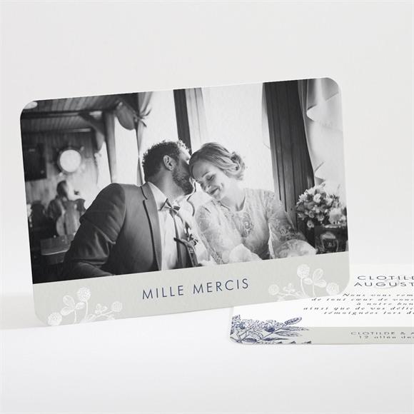 Remerciement mariage Esperluette réf.N111234
