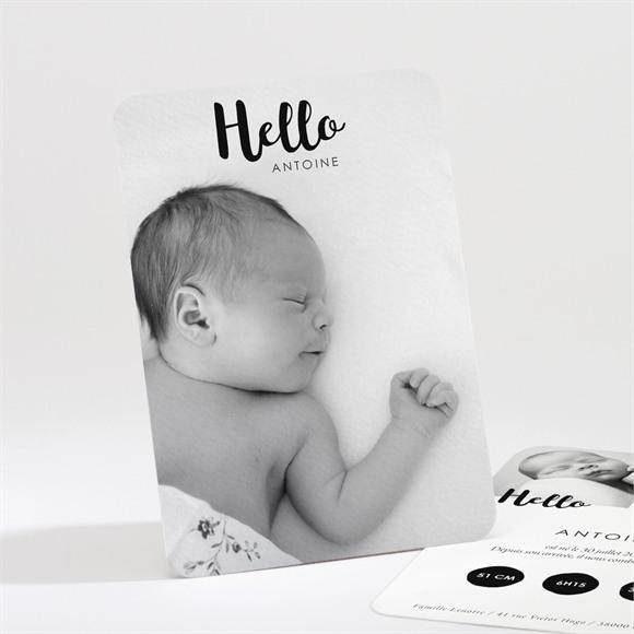 Faire-part naissance Hello Little Boy réf.N211202