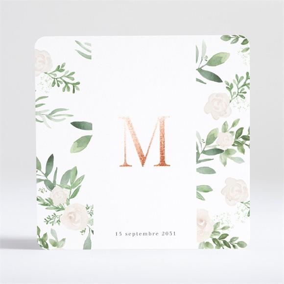 Faire-part naissance Design végétal réf.N35144