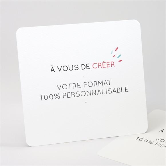 Invitation anniversaire de mariage 100% création ! réf.N311249