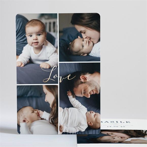 Faire-part naissance Love réf.N241190
