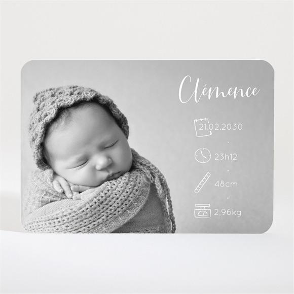 Faire-part naissance Paysage magnet réf.N11021