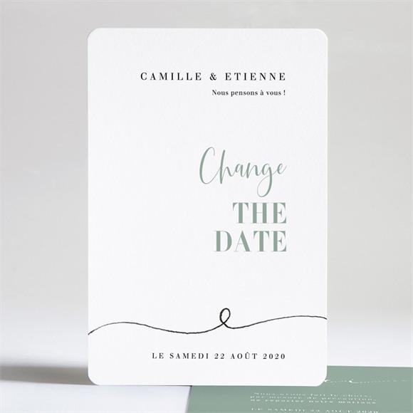 Faire-part mariage Nouvelle Date réf.N241225