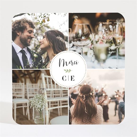 Remerciement mariage Feuillage d'été Magnet réf.N3001652