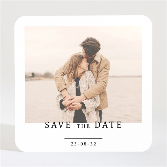 Save the Date mariage Un point c'est Nous Magnet réf.N3001656