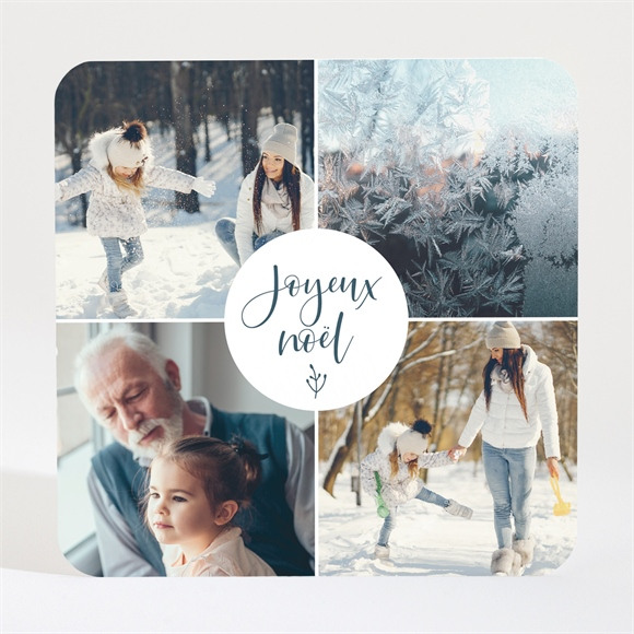 Carte de voeux Joyeux Noel Magnet réf.N3001698