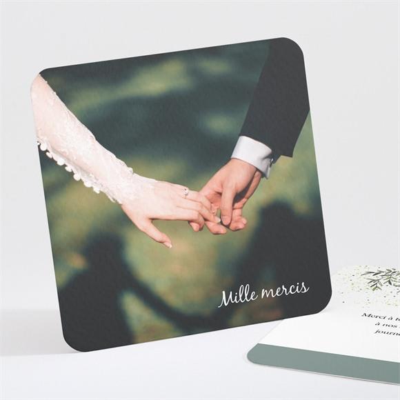 Remerciement mariage Champêtre virevoltant réf.N301328