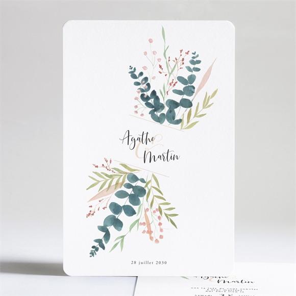 Faire-part mariage Bouquet ardent réf.N241244