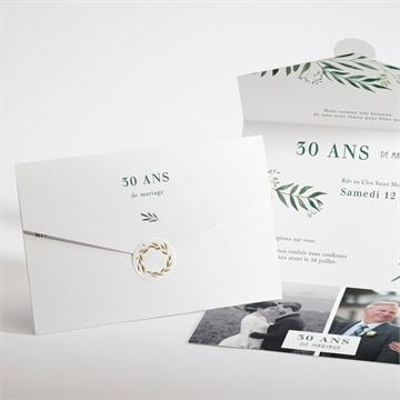 Invitations D Anniversaire De Mariage A Personnaliser