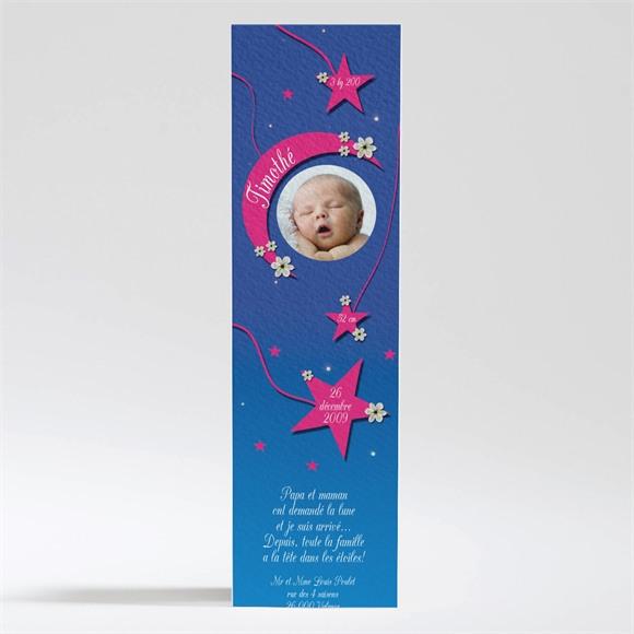 Faire-part naissance Dans les étoiles réf.N20016