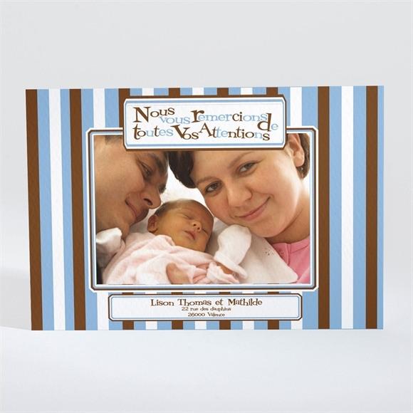 Remerciement naissance réf. N11004 réf.N11004