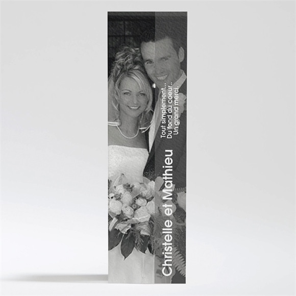 Remerciement mariage réf. N20026 réf.N20026