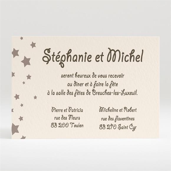 Carton d'invitation mariage Montage photo humouristique réf.N12035