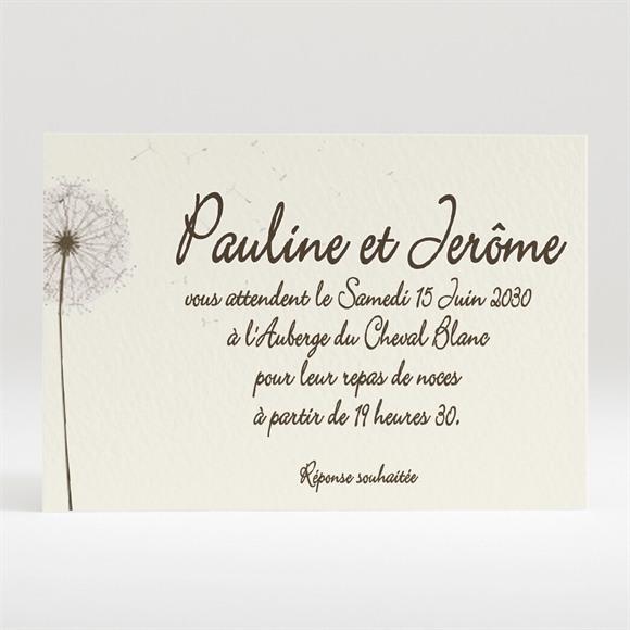 Carton d'invitation mariage Sur la balançoire réf.N12040