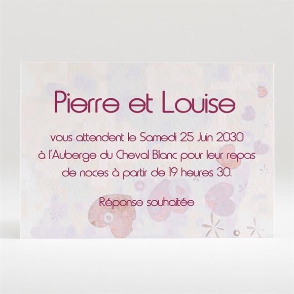 Carton d'invitation mariage Carte originale réf.N12041