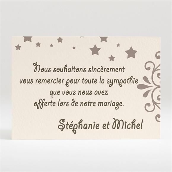 Remerciement mariage Montage photo humouristique réf.N12063
