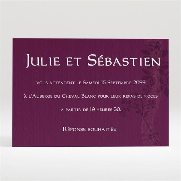 Carton d'invitation mariage réf. N12059 réf.N12059