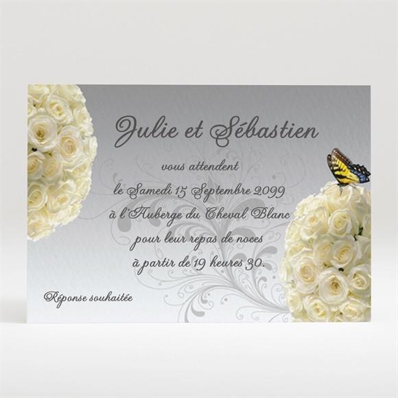 Carton d'invitation mariage réf. N12056 réf.N12056