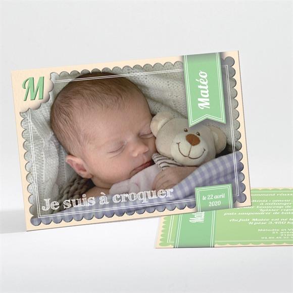 Faire-part naissance réf. N11119 réf.N11119