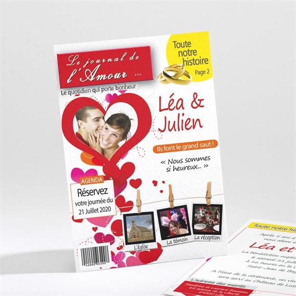 Faire-part mariage Humour et originalité réf.N21163