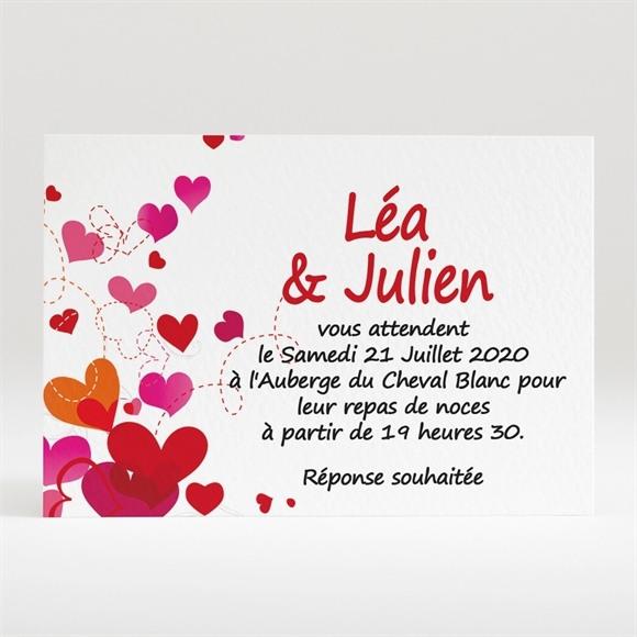 Carton d'invitation mariage Humour et originalité réf.N12052
