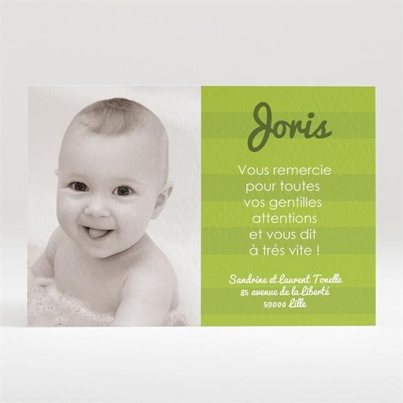 Remerciement naissance Faire part photo original réf.N12012
