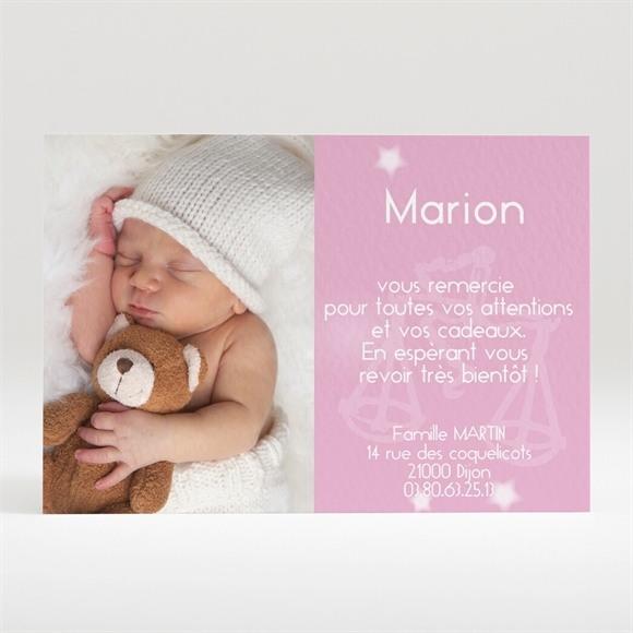 Remerciement naissance réf. N12018 réf.N12018