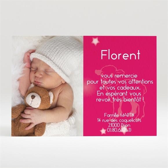 Remerciement naissance réf. N12019 réf.N12019