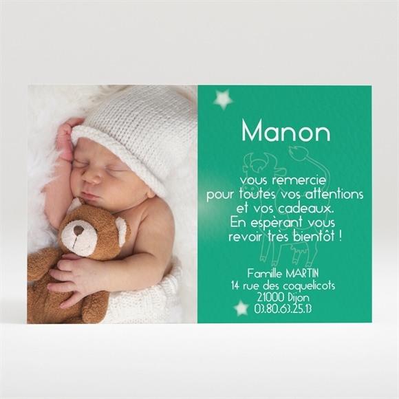 Remerciement naissance réf. N12027 réf.N12027