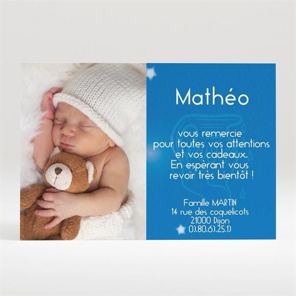 Remerciement naissance réf. N12028 réf.N12028