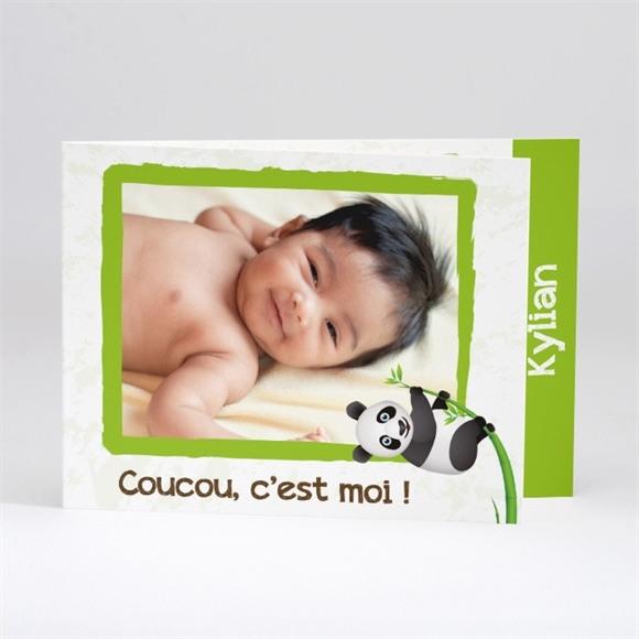 Faire-part naissance Faire part Panda photo réf.N51105