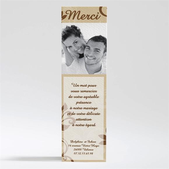 Remerciement mariage Nos anges réf.N20034