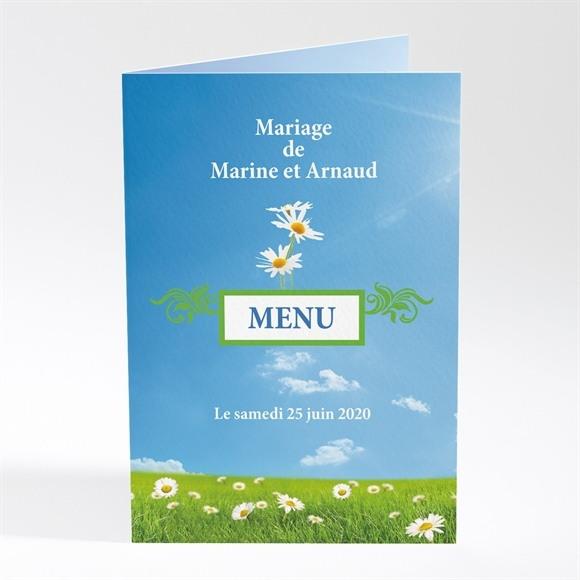 Menu mariage Notre mariage est dans le pré réf.N40140