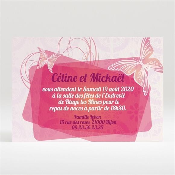 Carton d'invitation mariage réf. N12092 réf.N12092