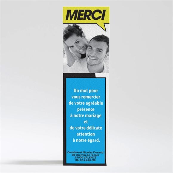 Remerciement mariage Entre Nous réf.N20050