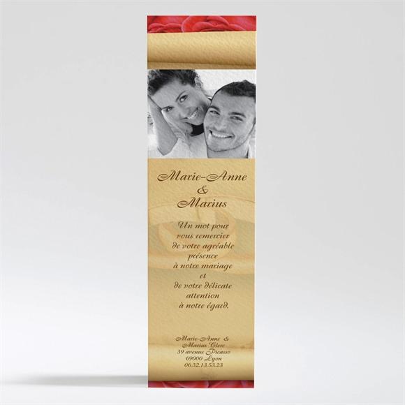 Remerciement mariage Nos deux colombes réf.N20055