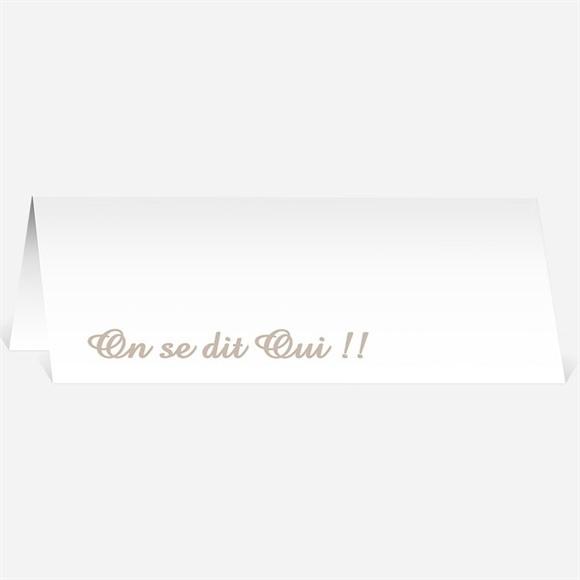 Marque-place mariage Le Médaillon des Amoureux réf.N44041