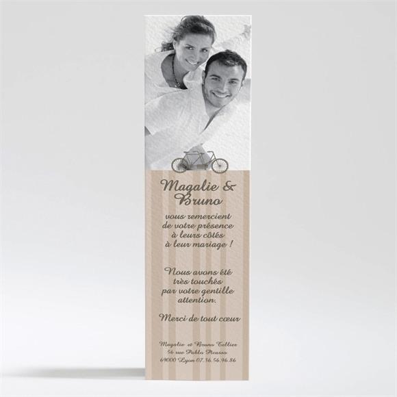 Remerciement mariage Vélo vintage réf.N20073