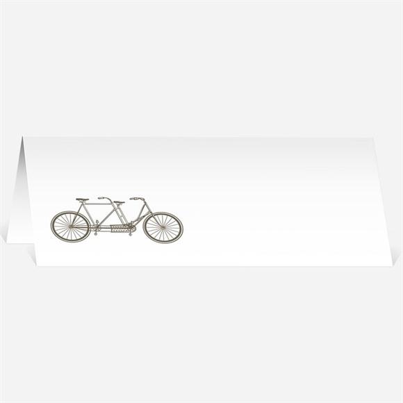 Marque-place mariage Vélo vintage réf.N44045