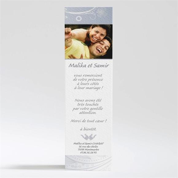 Remerciement mariage Mariage authentique réf.N20080