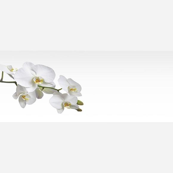 Marque-place mariage Blanches orchidées réf.N44043